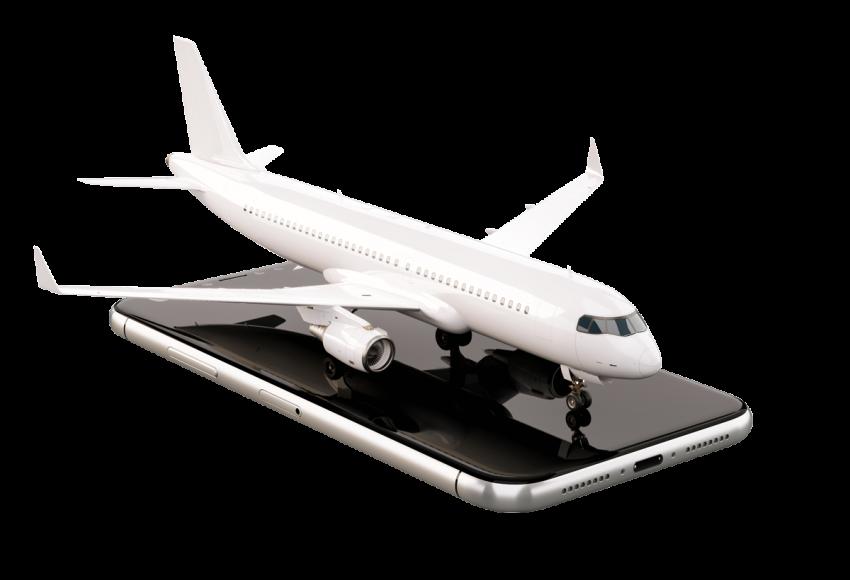 Tracing flight mobile